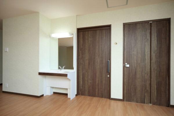 看護小規模多機能型居宅介護施設の内装